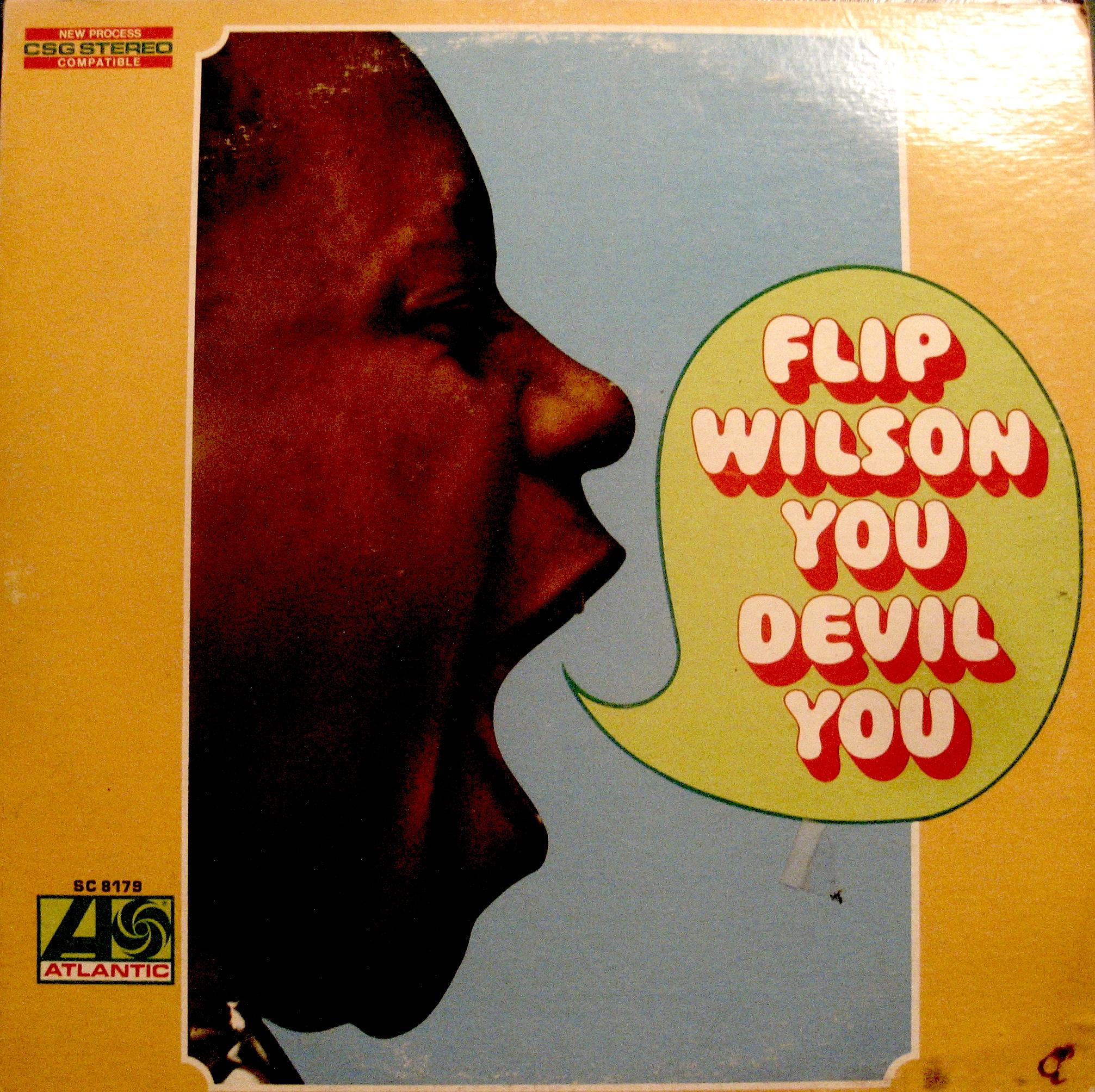 "Flip WIlson ""You Devil You"" album cover"
