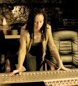 Angel in studio