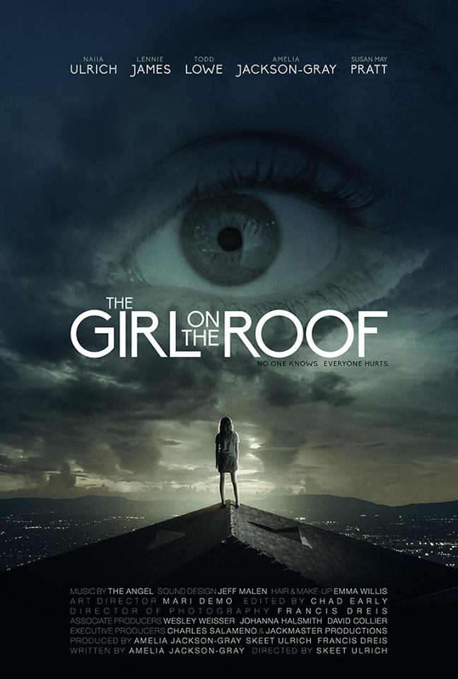 The Girl on the Roof Poster