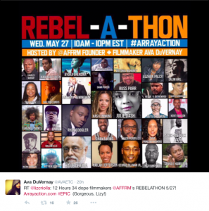 AFFRM Rebel-A-Thon May 27