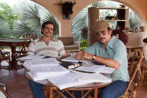 Narcos - Wagner Moura and Juan Pablo Raba Photo: Daniel Daza/Netflix.