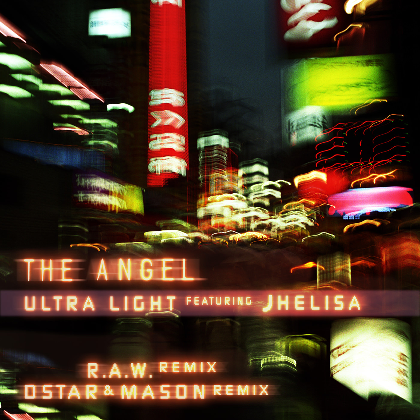 "The Angel ""Ultra Light (feat. Jhelisa) `{`R.A.W. Remix/Dstar & Mason Remix`}`"""